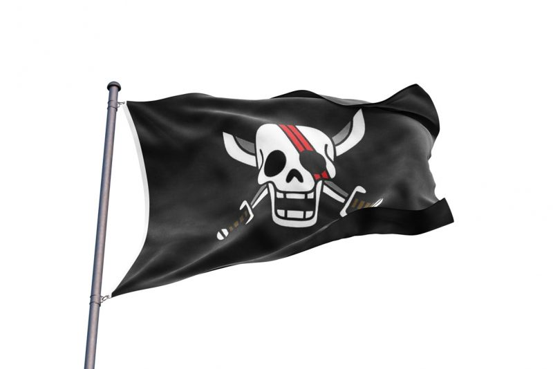 Drapeau Shanks - Jolly Roger