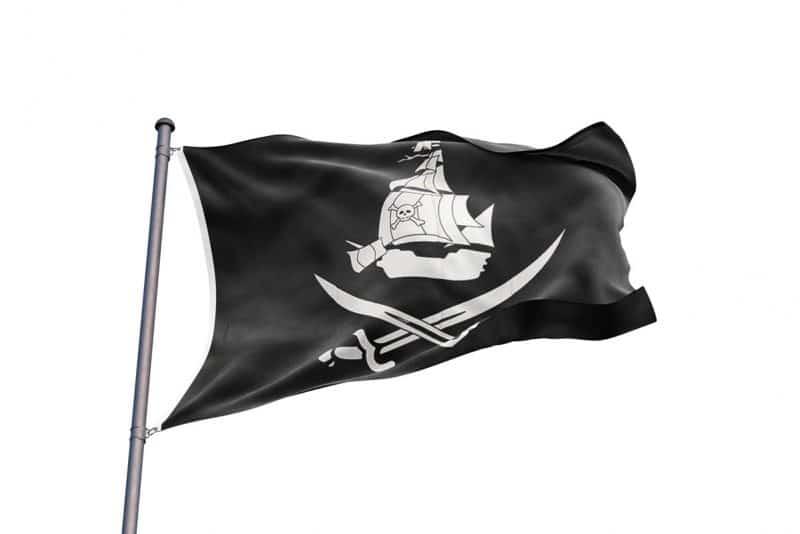 Bateau de Pirate Drapeau - Jolly Roger