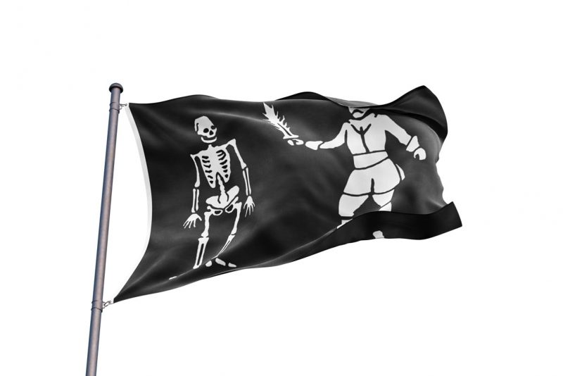 Black Bart Pavillon - Jolly Roger