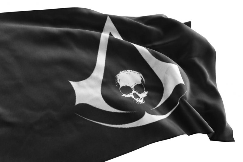 Drapeau Assassin Creed - Jolly Roger