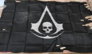 Drapeau Pirate Assassin's Creed photo review