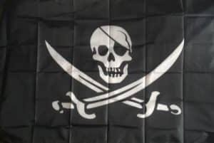 Drapeau Pirate Black Pearl photo review