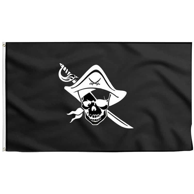 Drapeau Corsaire Pirate - Jolly Roger
