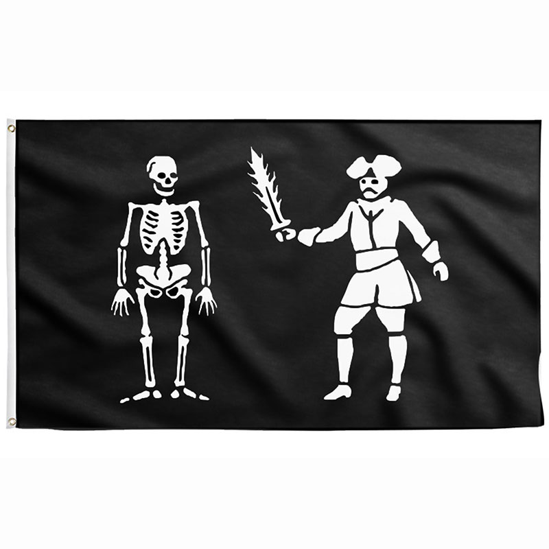 Drapeau de Black Bart - Jolly Roger