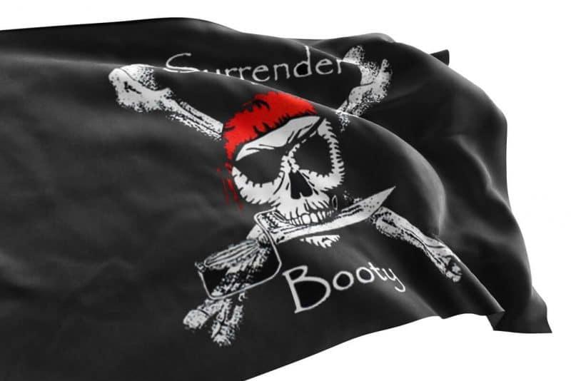 Drapeau de Pirate 90 x 150 - Jolly Roger