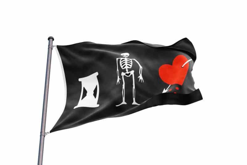 Drapeau de Pirate Anglais - Jolly Roger