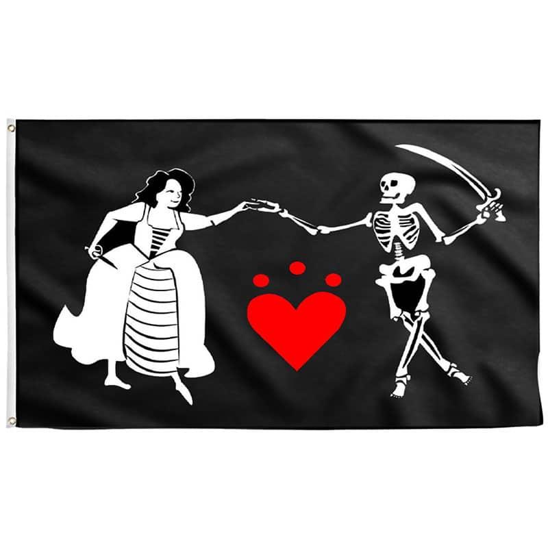 Drapeau de Pirate Célèbre - Jolly Roger