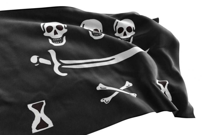 Drapeau de Pirate dans la Piraterie Traditionnelle - Jolly Roger
