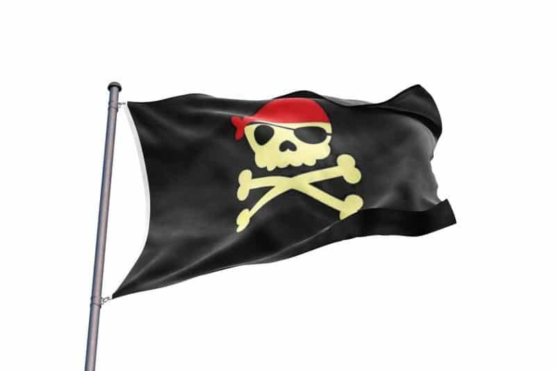 Drapeau de Pirate pour Enfant - Jolly Roger