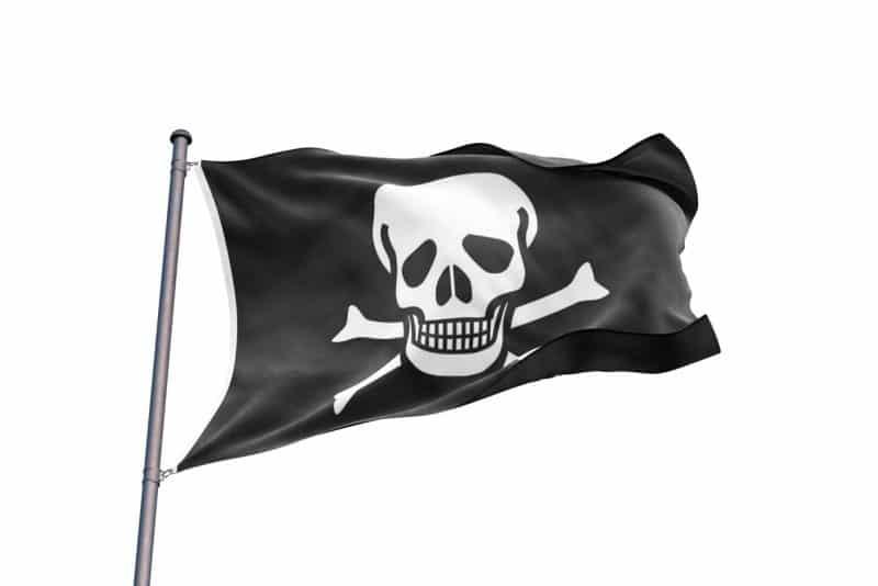 Drapeau de Pirate Simple - Jolly Roger