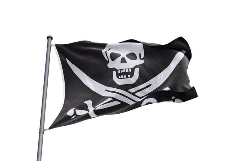 Drapeau Jack Rackham - Jolly Roger