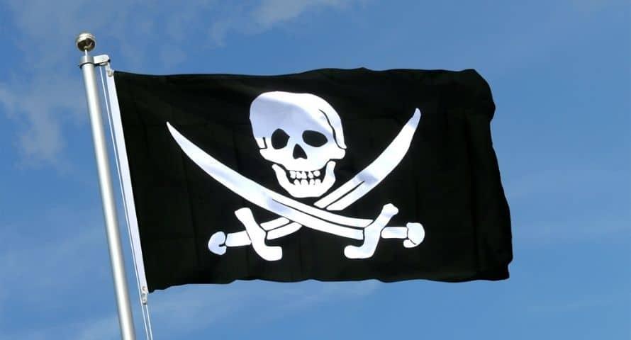 Drapeau Jack Rackham - Drapeau Calico Jack - Jolly Roger
