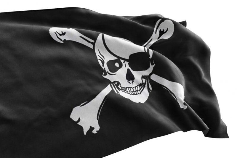 Drapeau Noir des Pirates - Jolly Roger