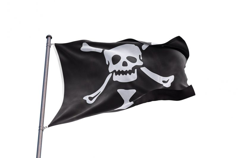 Drapeau Pirate Emmanuel Wynn - Jolly Roger