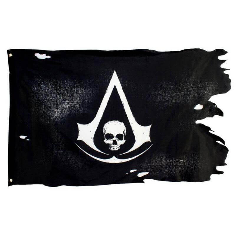 Drapeau Pirate Assassin's Creed - Jolly Roger