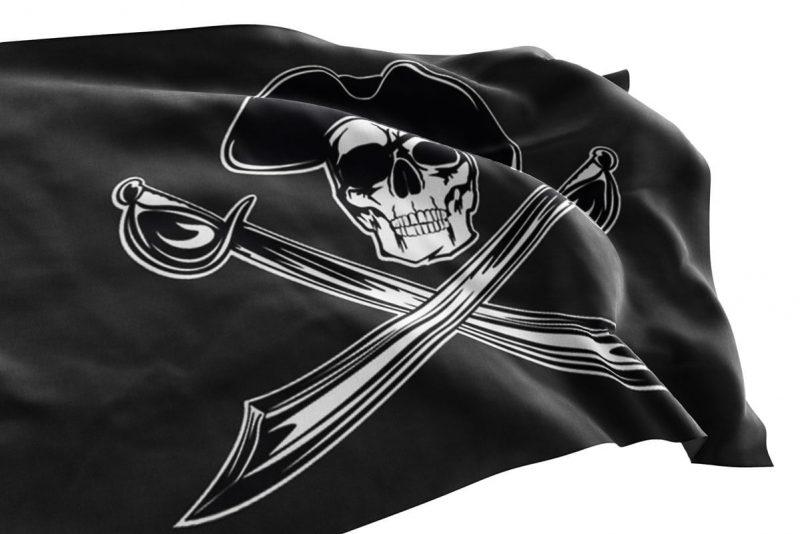 Drapeau Pirate Chapeau - Jolly Roger