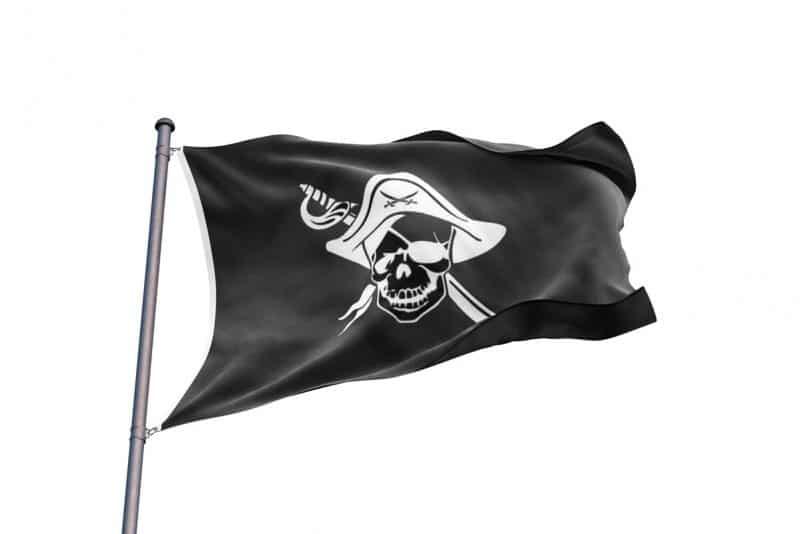 Drapeau Pirate Corsaire- Jolly Roger
