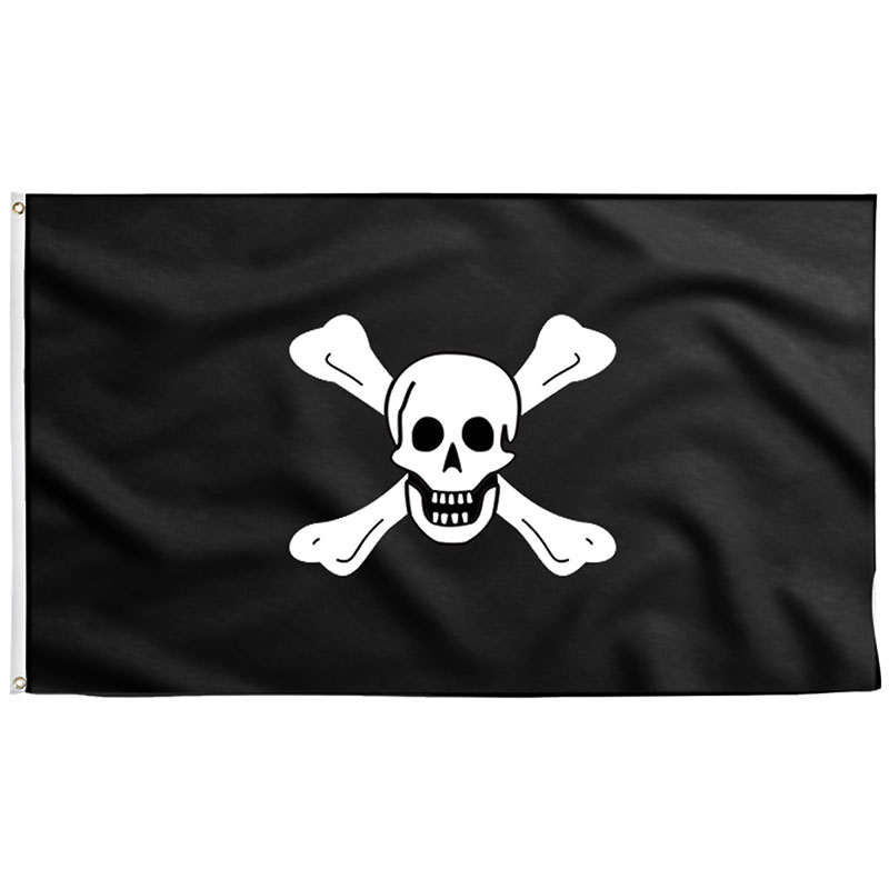Drapeau Pirate des Mers - Jolly Roger