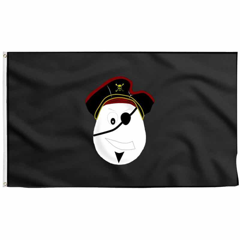 Drapeau Pirate Enfant - Jolly Roger