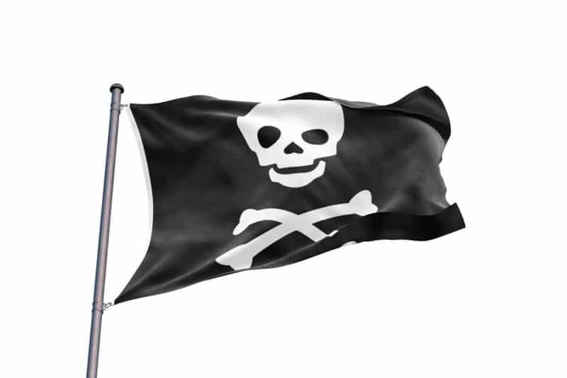 Drapeau Pirate Interdit - Jolly Roger