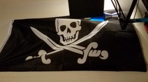 Drapeau Pirate Jack Rackham photo review