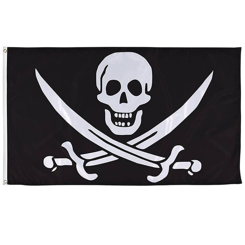 Drapeau Pirate Jack Rackham - Jolly Roger
