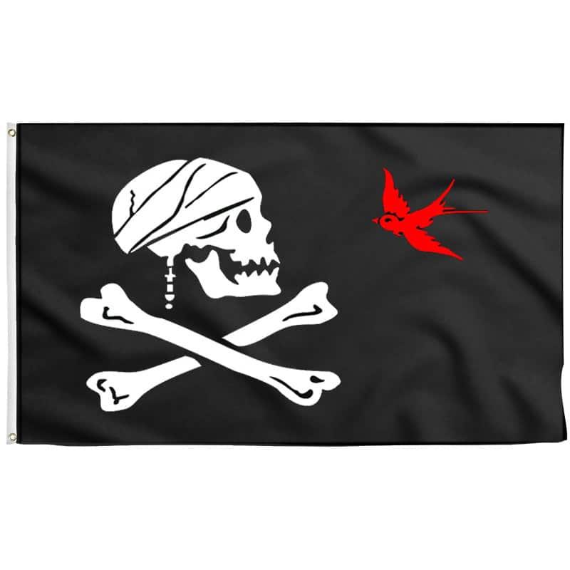 Drapeau Pirate Jack Sparrow - Jolly Roger