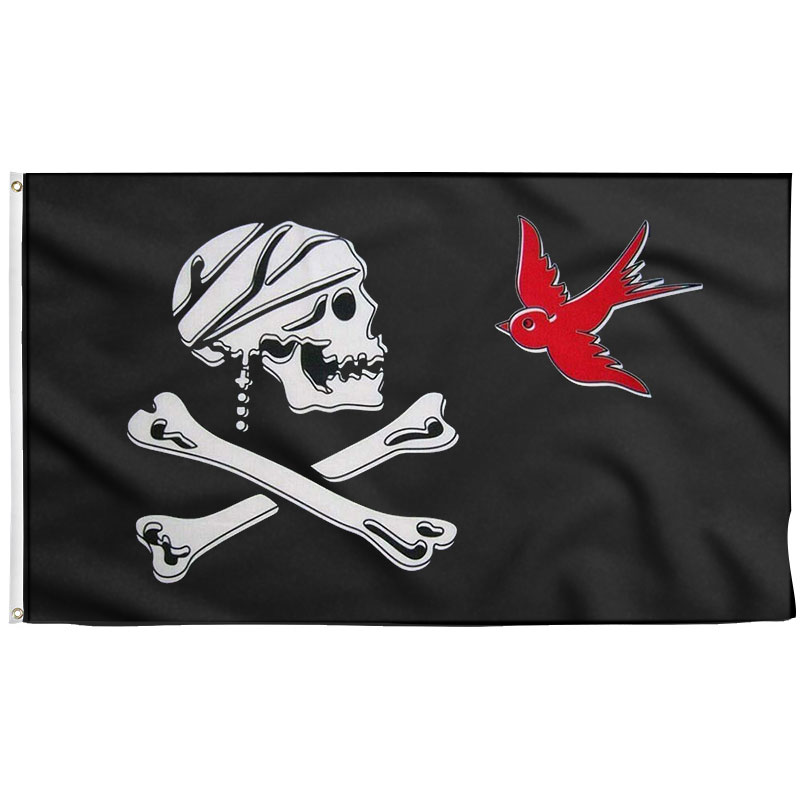 Drapeau Pirate Jack Sparrow - Jolly Roger