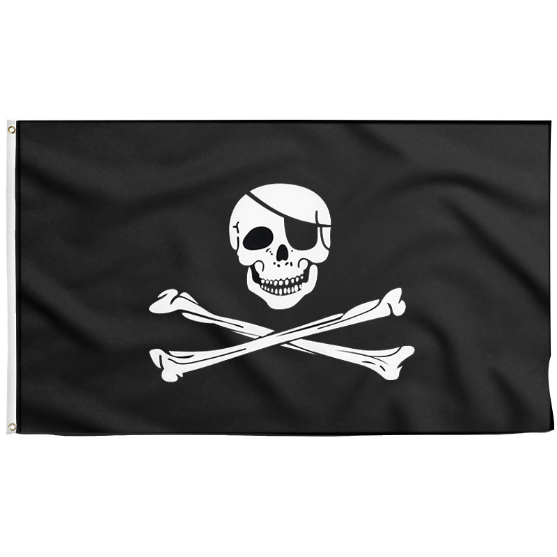 Drapeau Pirate Jolly Roger - Jolly Roger