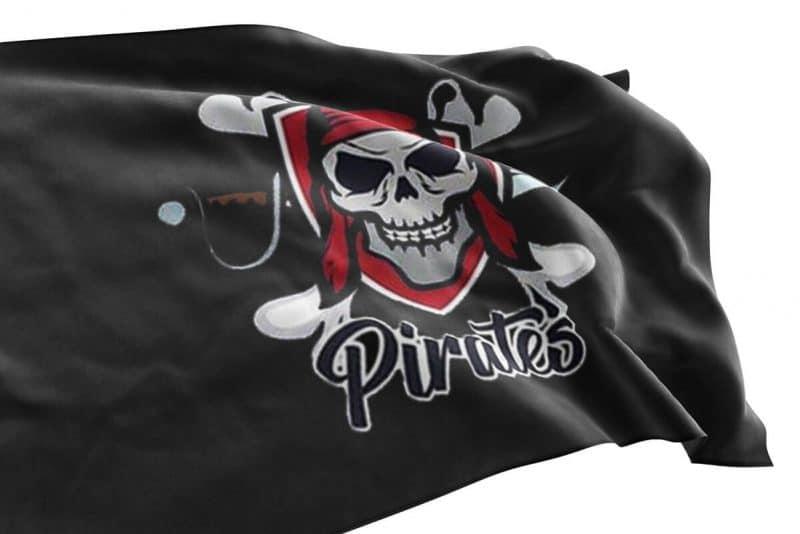 Drapeau Pirate Moderne - Jolly Roger