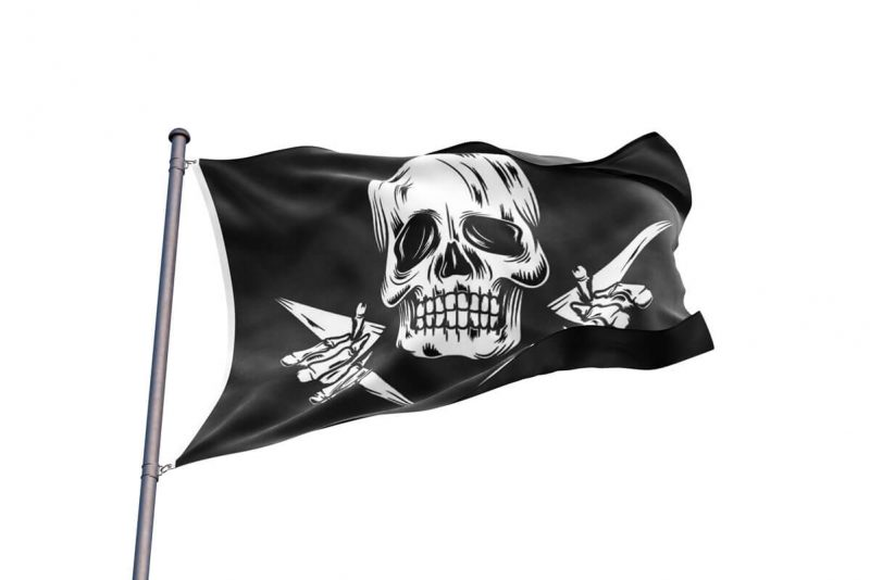 Drapeau Pirate Mort - Jolly Roger