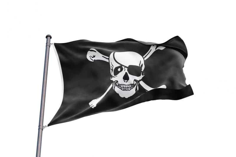 Drapeau Pirate Noir - Jolly Roger