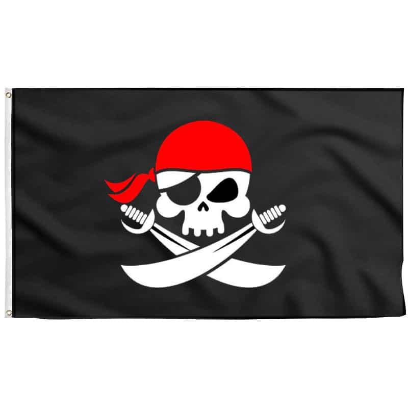 Drapeau Pirate pour Bateau - Jolly Roger