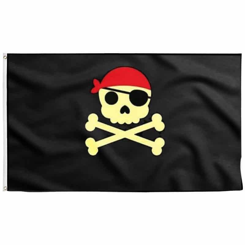 Drapeau Pirate pour Enfant - Jolly Roger