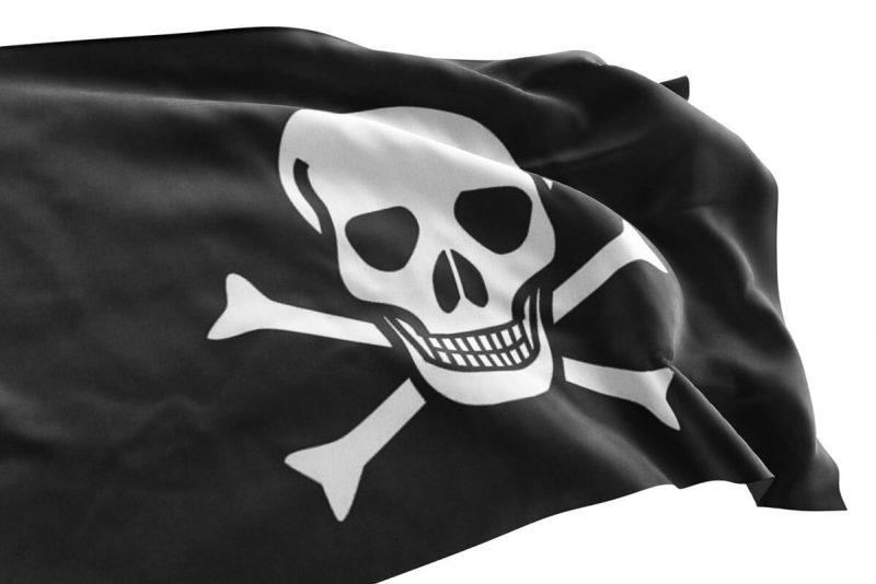 Drapeau Pirate Simple - Jolly Roger