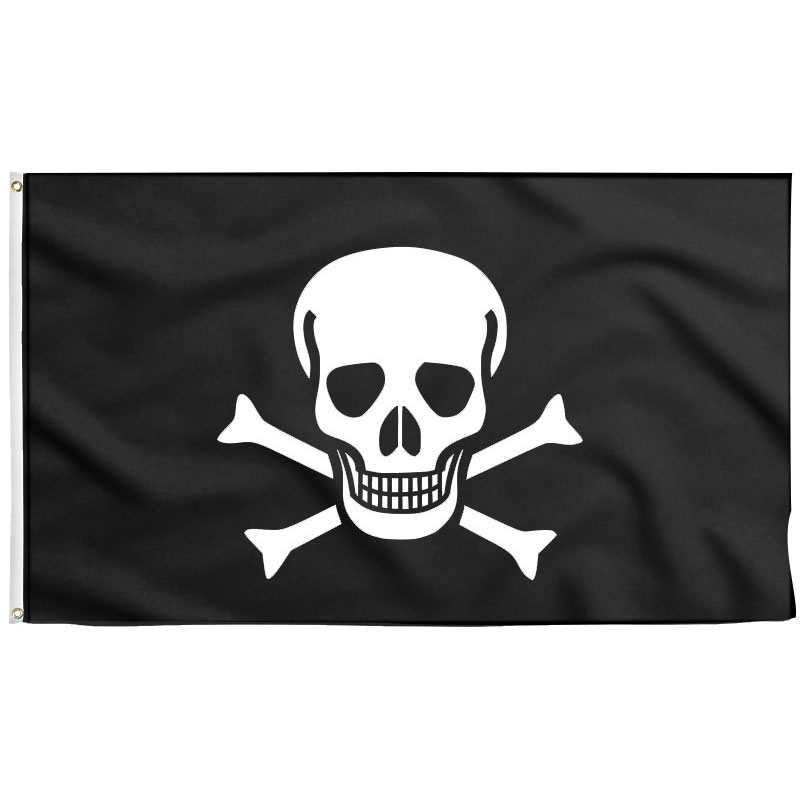 Drapeau Pirate Simple - Jolly Roger