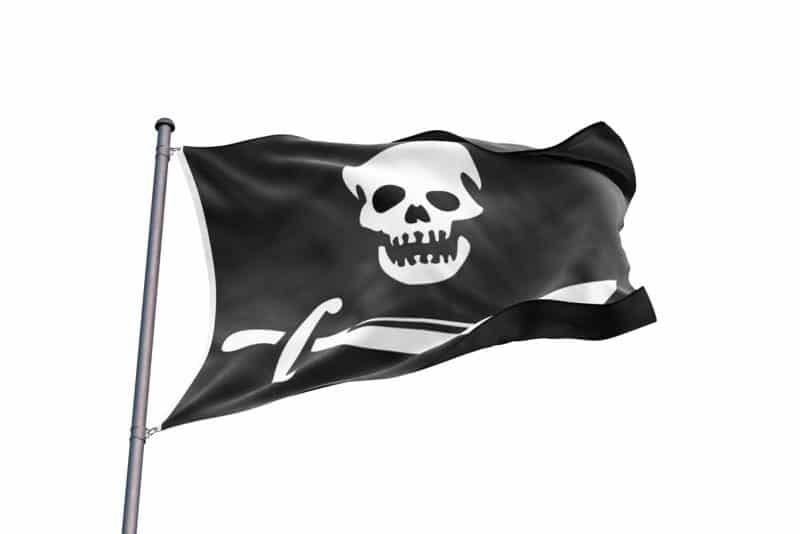 Drapeau Pirate Sur Bateau - Jolly Roger