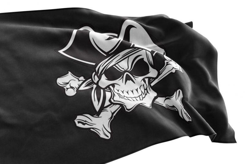 Drapeau Pirate Tête de Mort - Jolly Roger