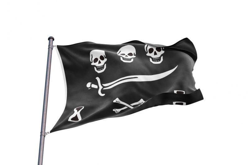 Drapeau la Piraterie - Jolly Roger