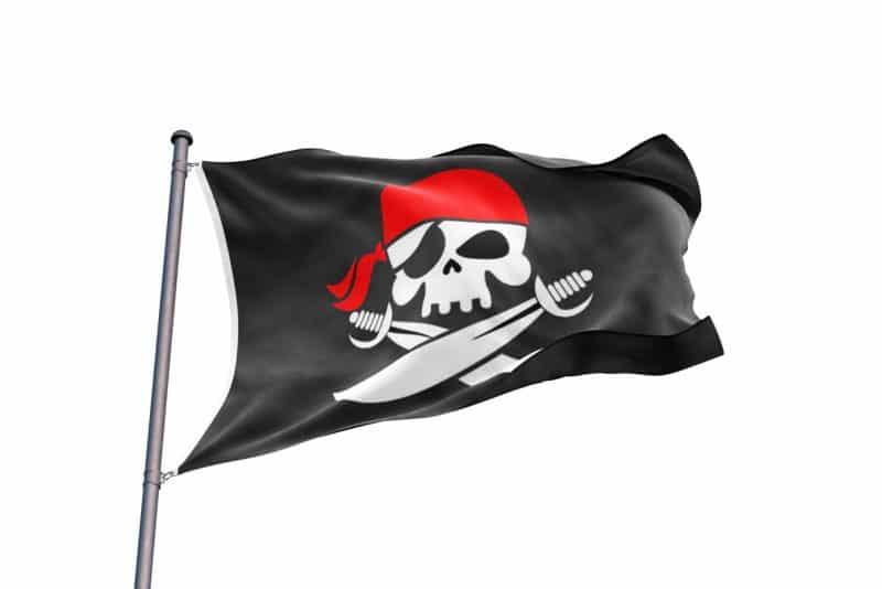 Drapeau pour Bateau Pirate - Jolly Roger