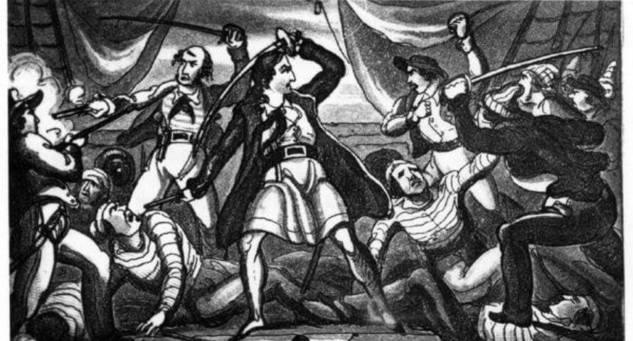 Richard Worley combattant - Jolly Roger