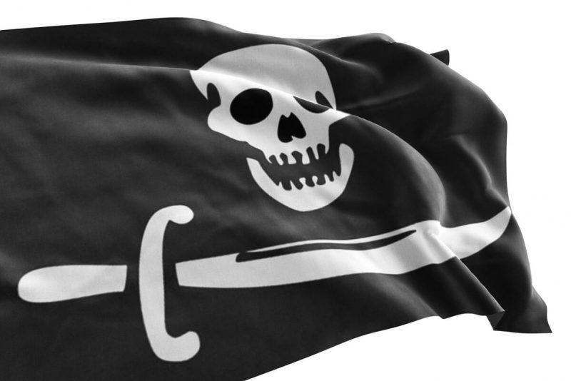Drapeau sur les Bateaux Pirates - Jolly Roger