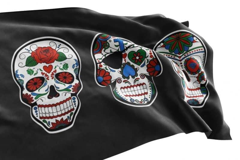 Drapeau Tête de Mort Bateau Pirate - Jolly Roger