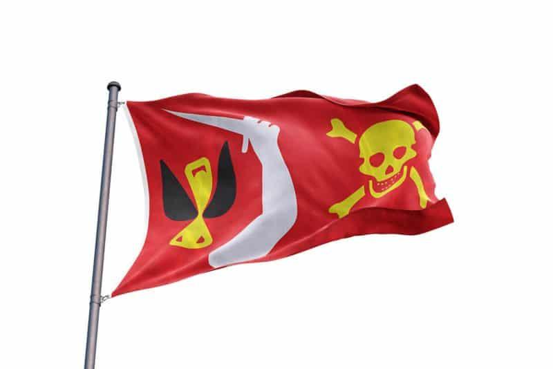 Drapeau Vrai Pirates - Jolly Roger
