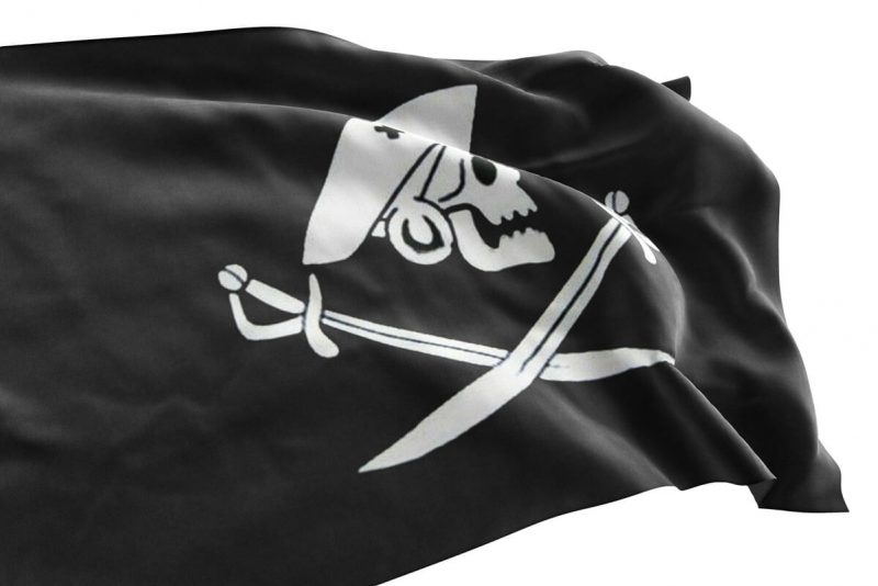Edward England flag - Jolly Roger