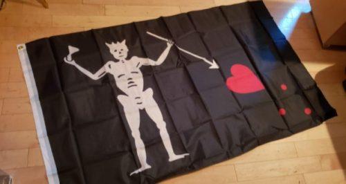 Drapeau Pirate Barbe Noire photo review