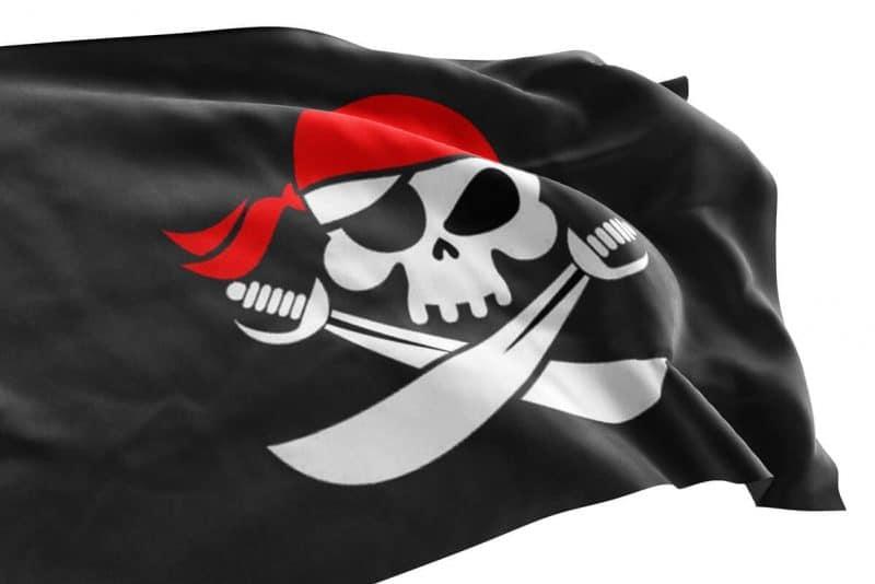 Pavillon Bateau Pirate - Jolly Roger
