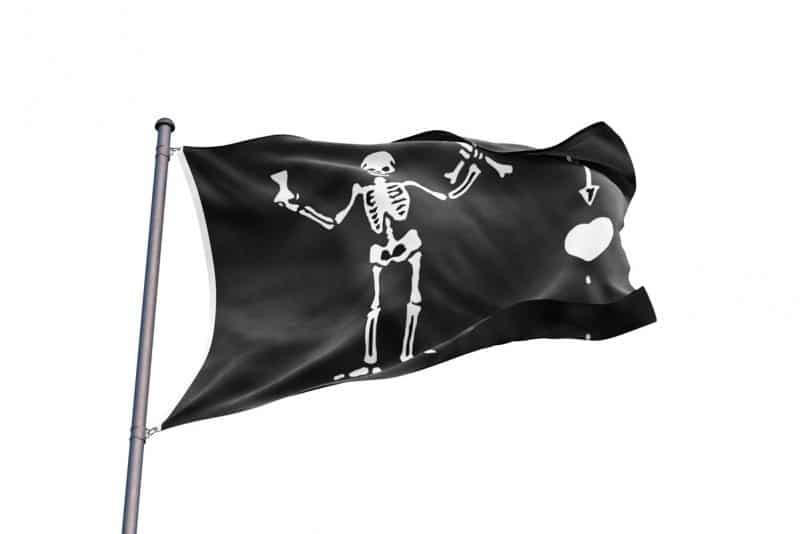 Pavillon de Pirate - Jolly Roger