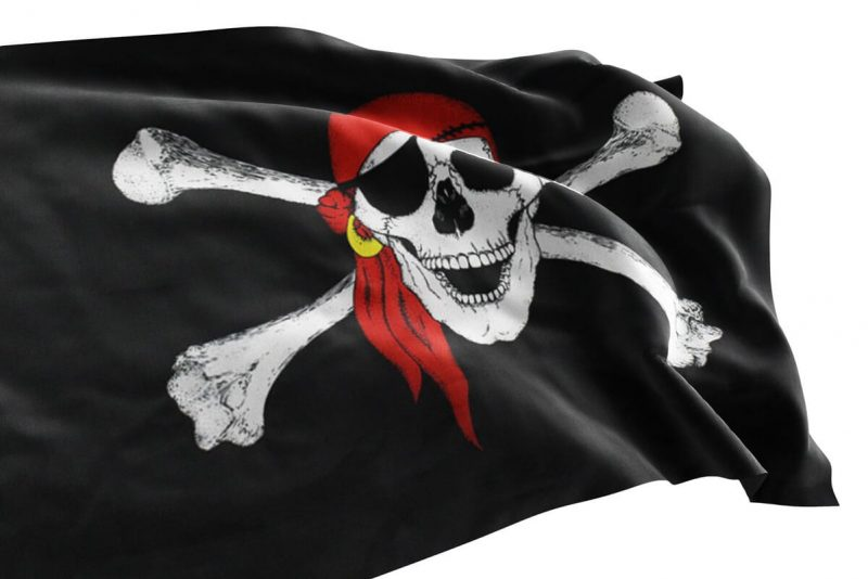 Pavillon des Pirates - Jolly Roger
