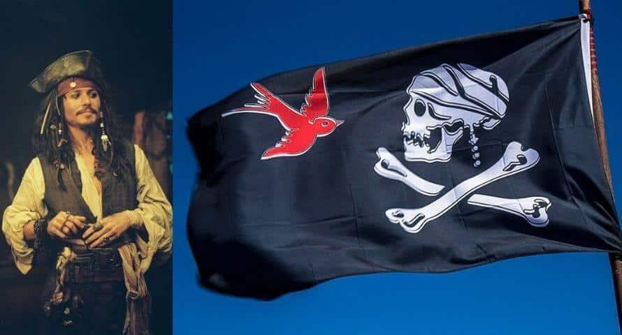 Pavillon Jack Sparrow - Jolly Roger